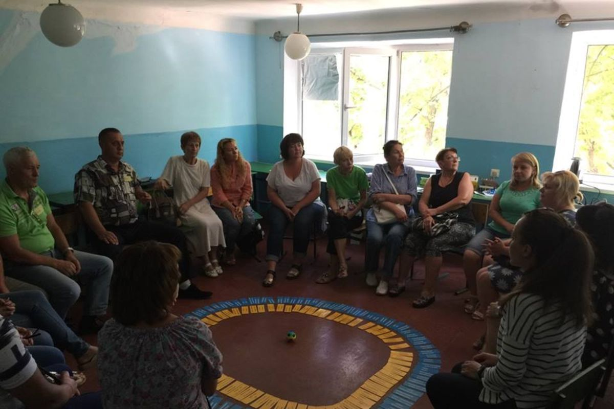 Dialogue meetings of PE School participants continued in eastern regions of Ukraine