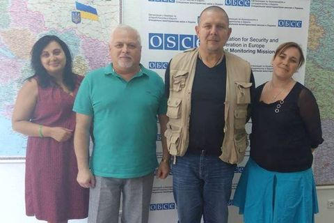 Participation of Peace Engineers in OSCE Special Monitoring Mission to Ukraine