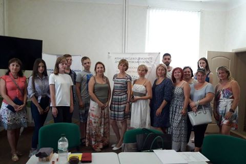 Participant of the PE School conducted a meeting in Novomoskovsk city