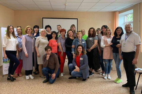 """Art of dialogue through Nonviolent communication"" held in Severodonetsk"