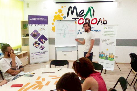 Melitopol library became a space for Peace Engineering workshop